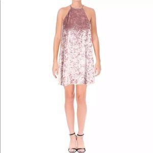 Show Me Your Mumu Velvet Mini Dress